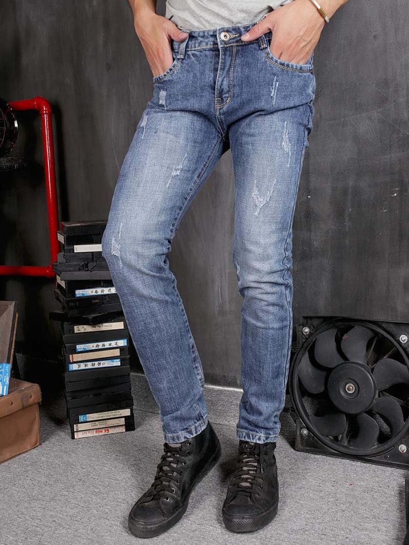 Quần jean skinny xanh qj1368 - 1