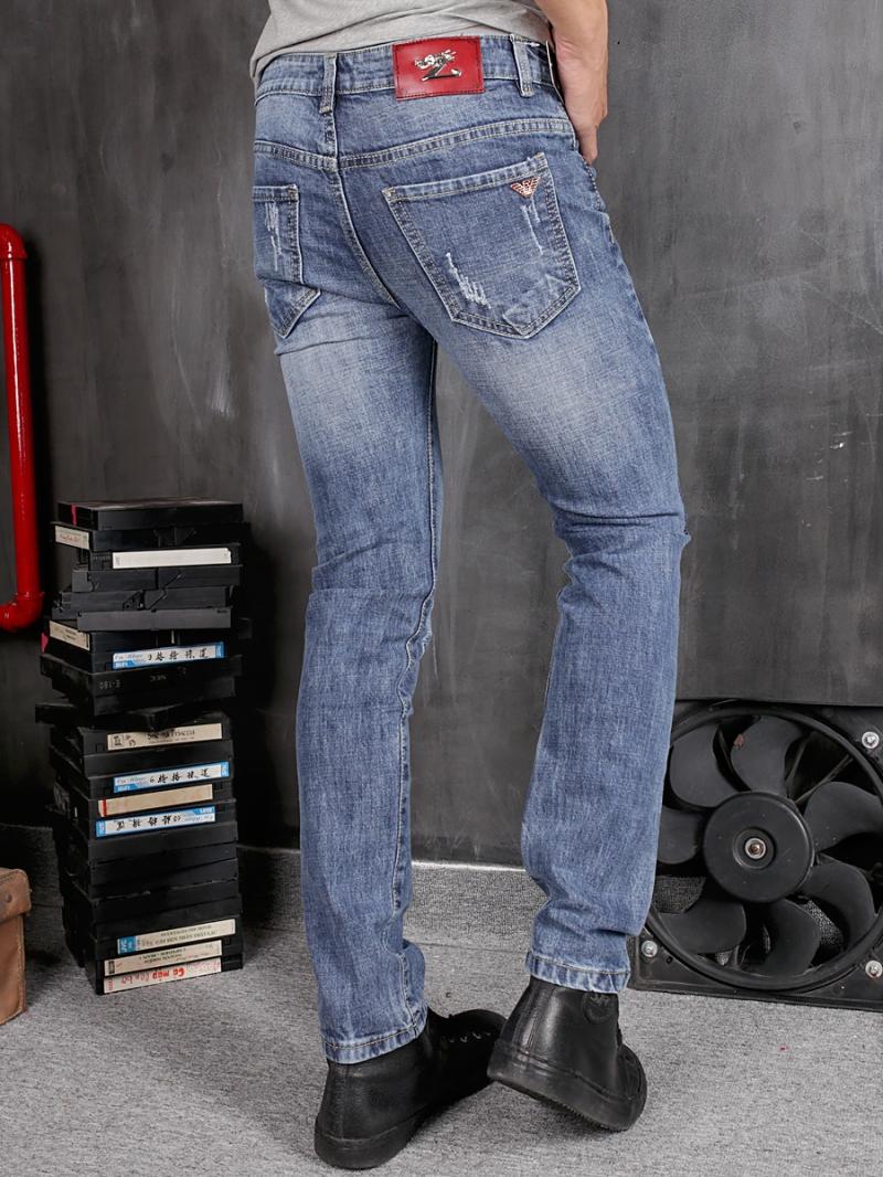 Quần jean skinny xanh qj1368 - 2