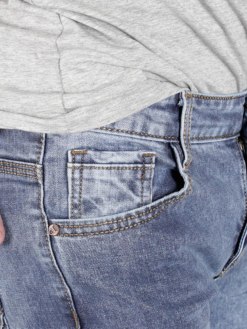 Quần jean skinny xanh qj1371 - 3