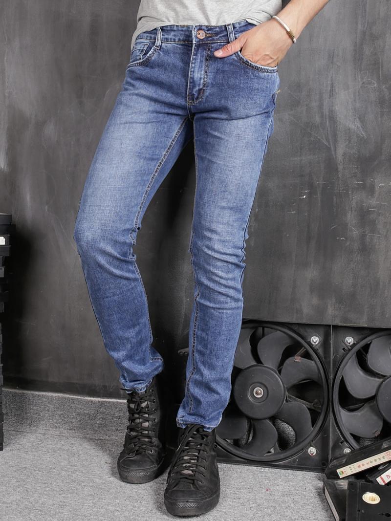 Quần jean skinny xanh qj1372 - 1
