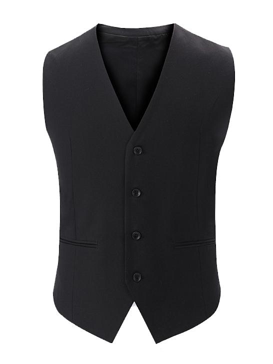 Áo gilê đen ag014 - 2