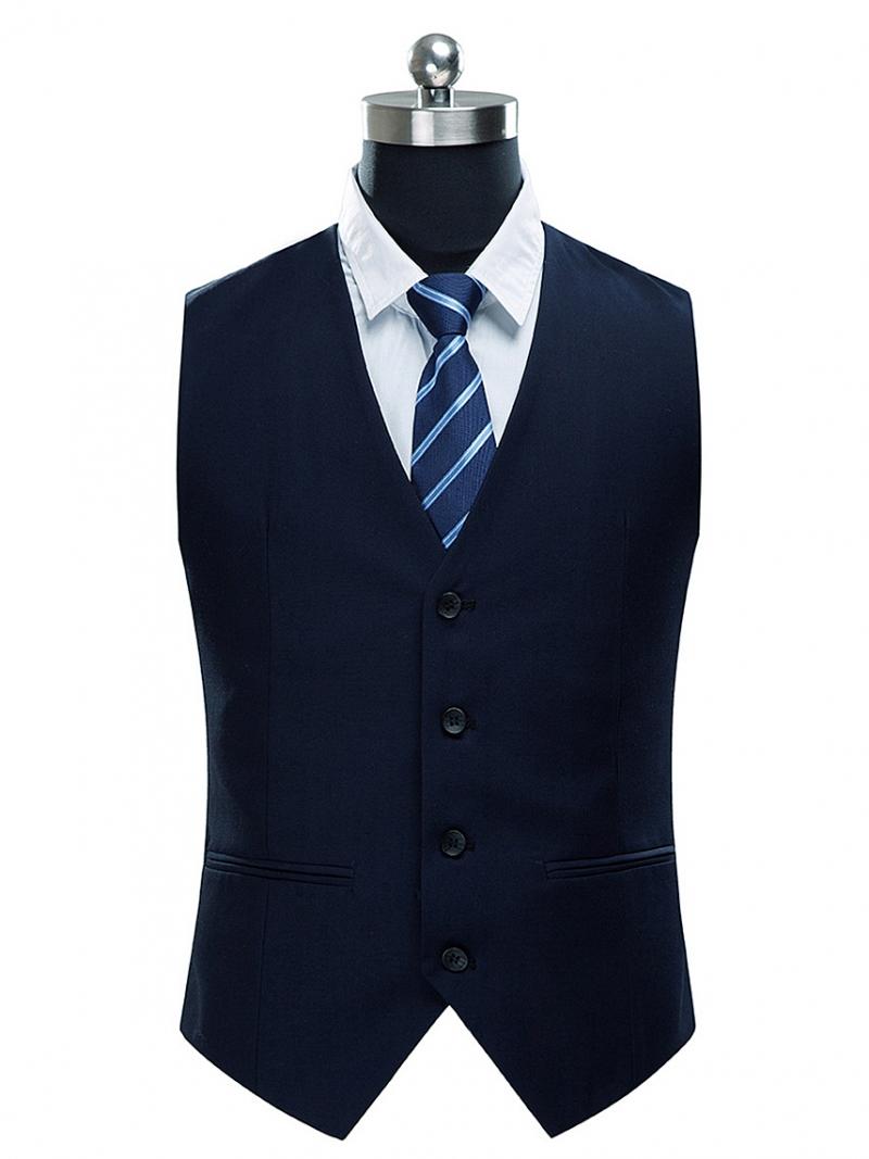 Áo gilê xanh đen ag014 - 1