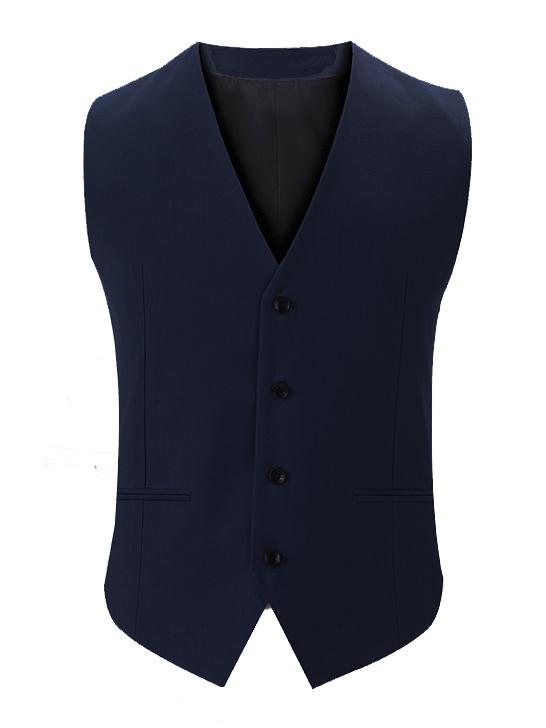 Áo gilê xanh đen ag014 - 2