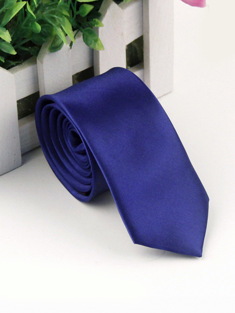 Cà vạt hàn quốc xanh bích cv118 - 1