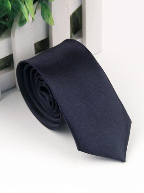 Cà vạt hàn quốc xanh đen cv118 - 1