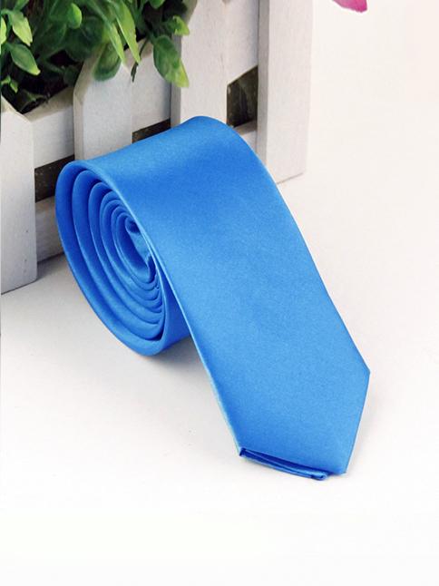Cà vạt hàn quốc xanh dương cv118 - 1