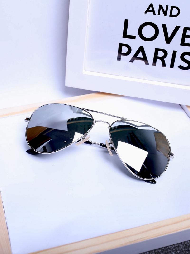 Mắt kính trắng mk134 - 1