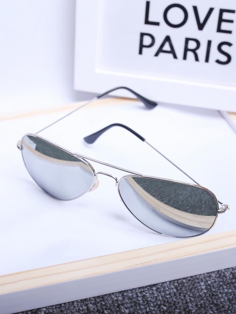 Mắt kính trắng mk134 - 2