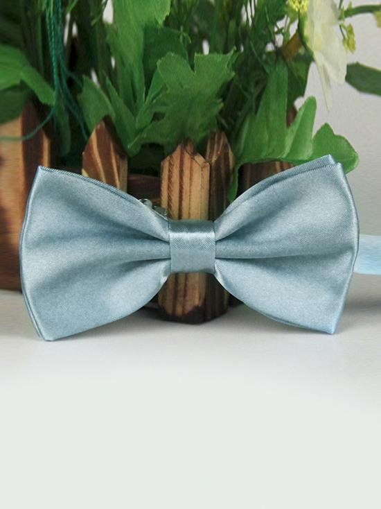 Nơ đeo cổ xám xanh nn87 - 1