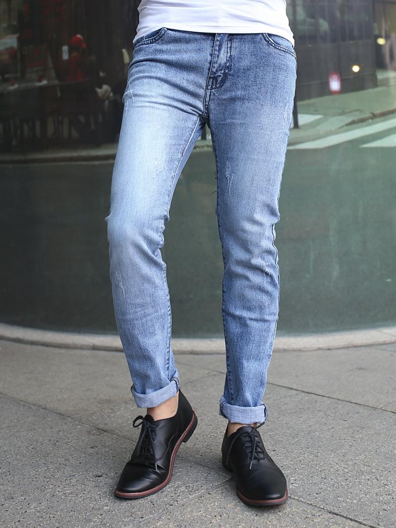 Quần jean skinny xanh qj1381 - 1