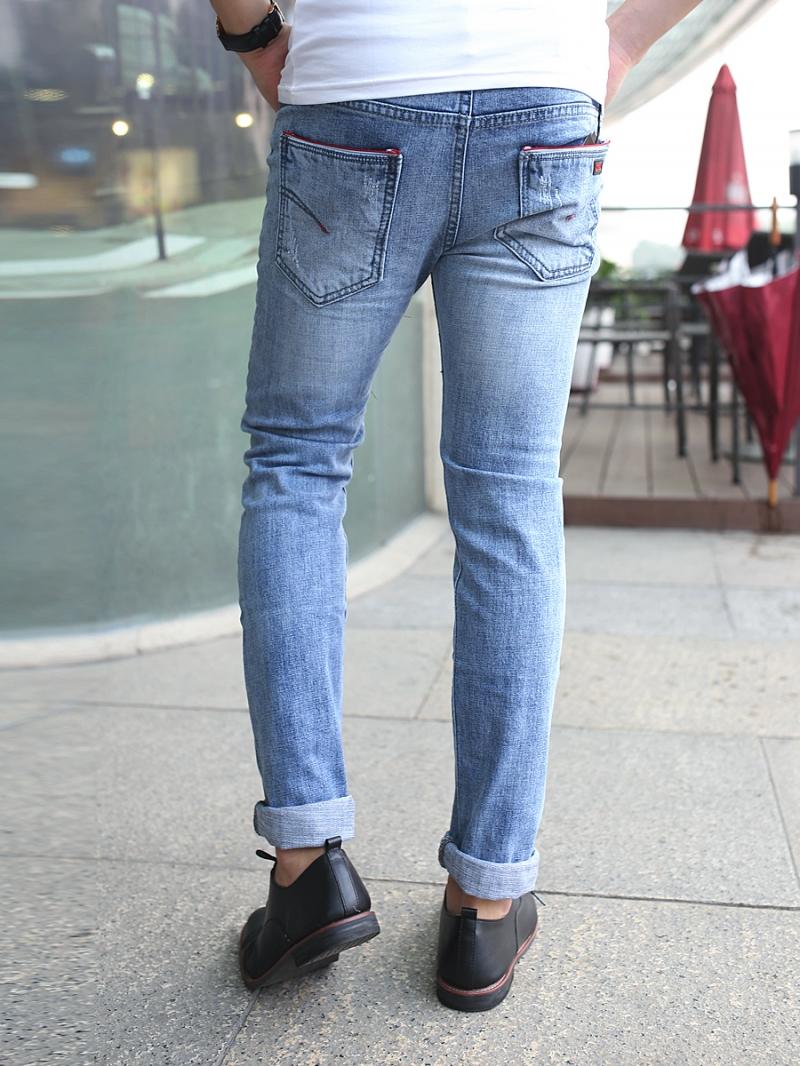 Quần jean skinny xanh qj1381 - 2