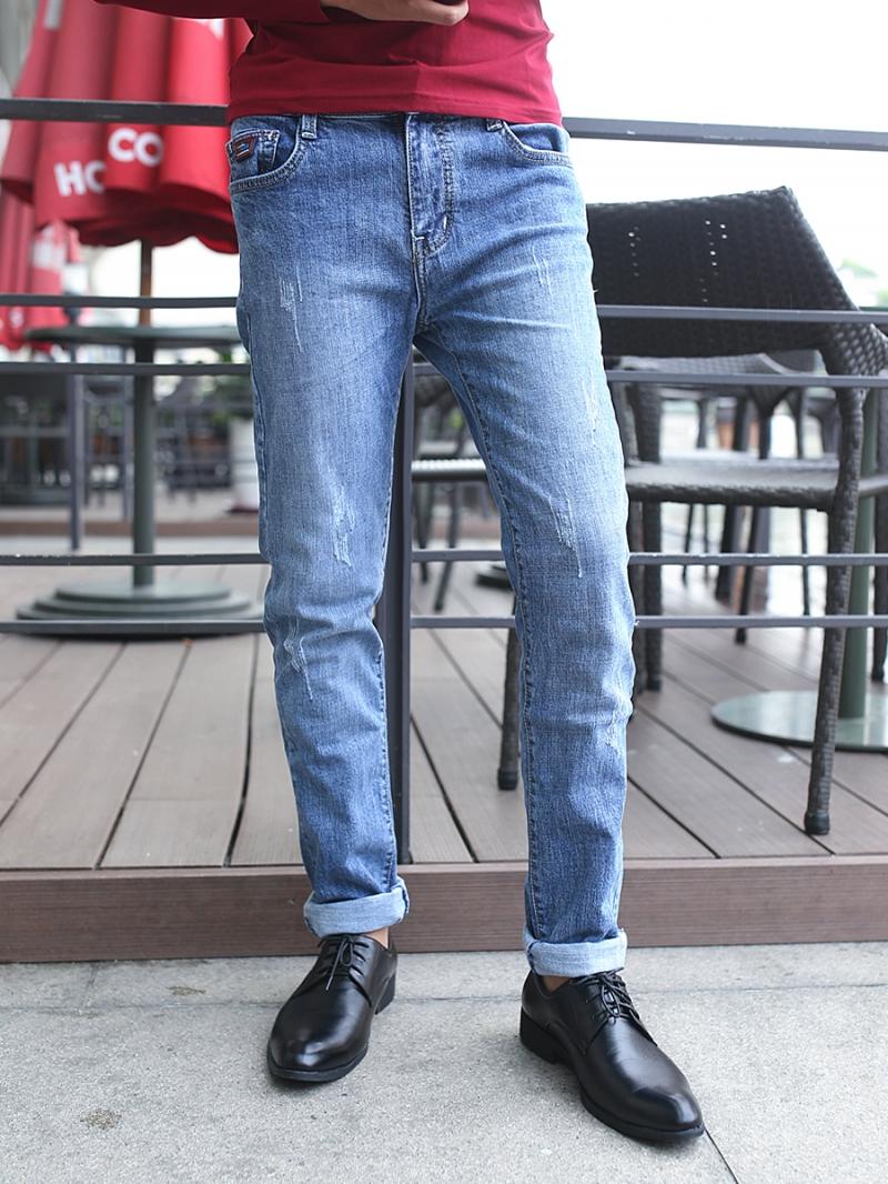 Quần jean skinny xanh qj1382 - 1