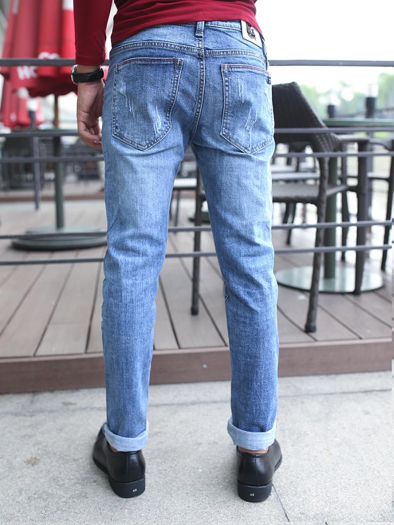 Quần jean skinny xanh qj1382 - 2