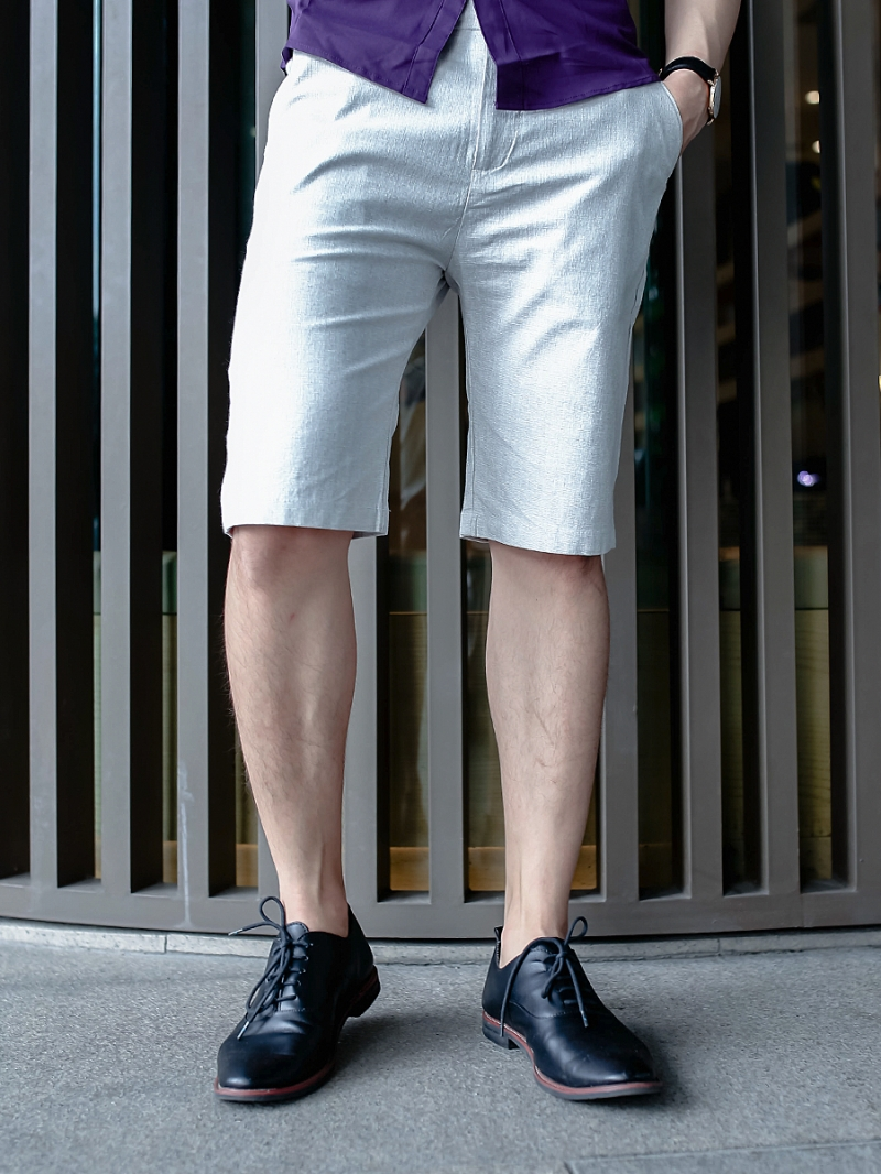 Quần short kaki trắng kem qs76 - 1