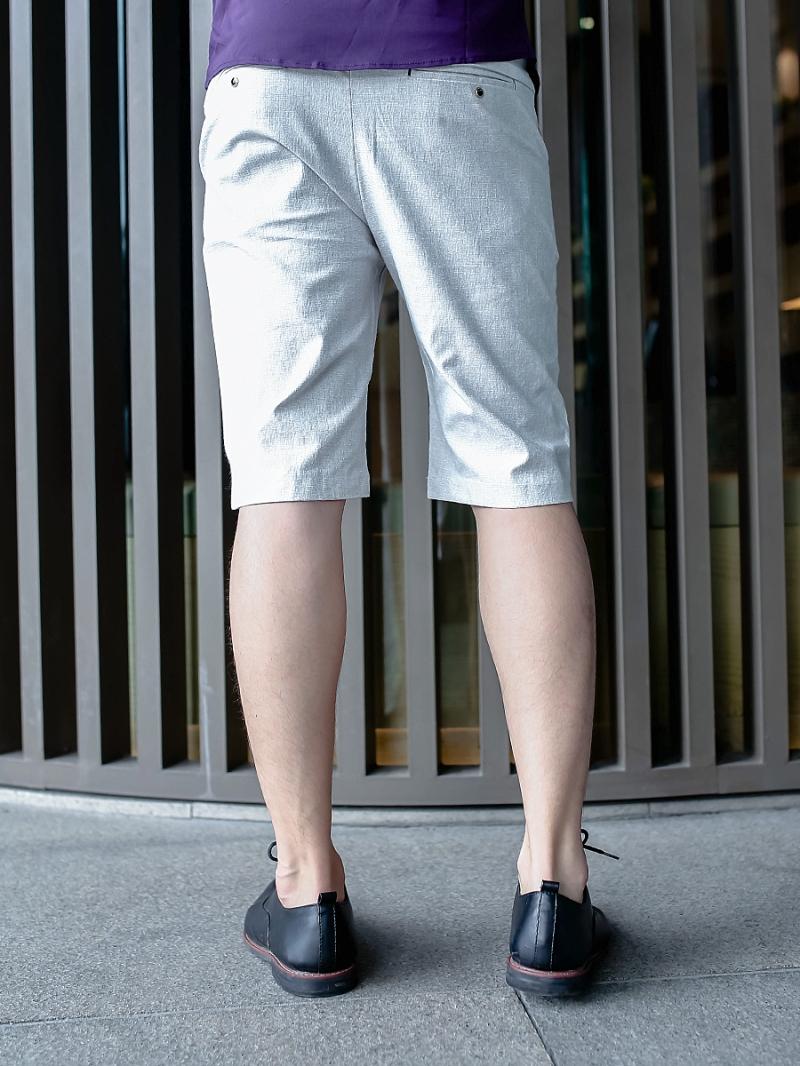 Quần short kaki trắng kem qs76 - 2