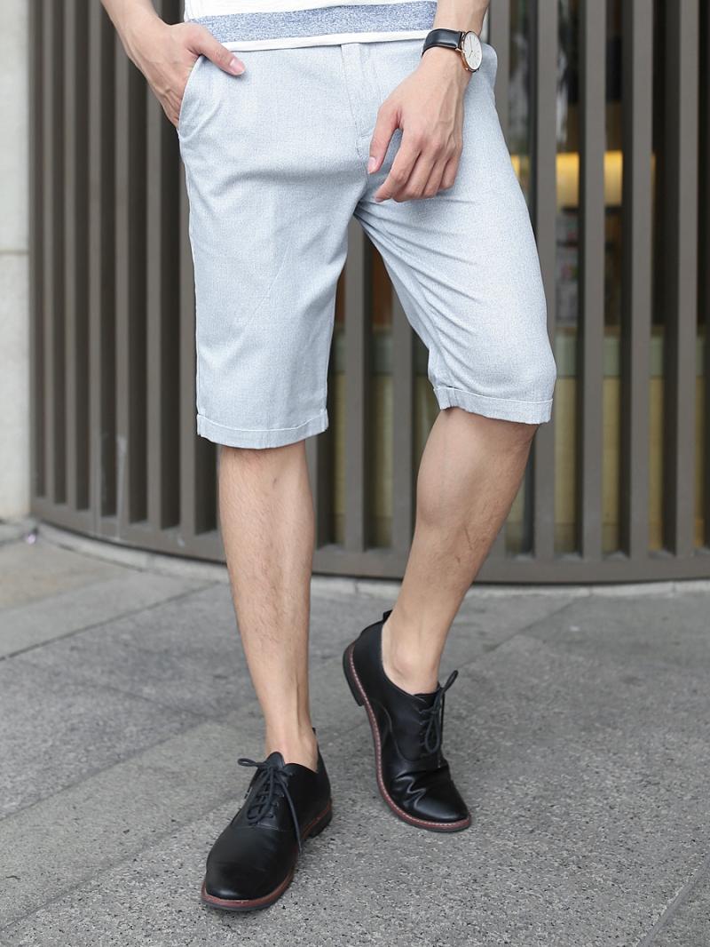 Quần short kaki xám xanh qs79 - 1