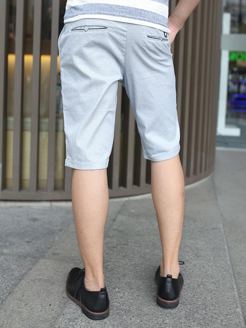 Quần short kaki xám xanh qs79 - 2