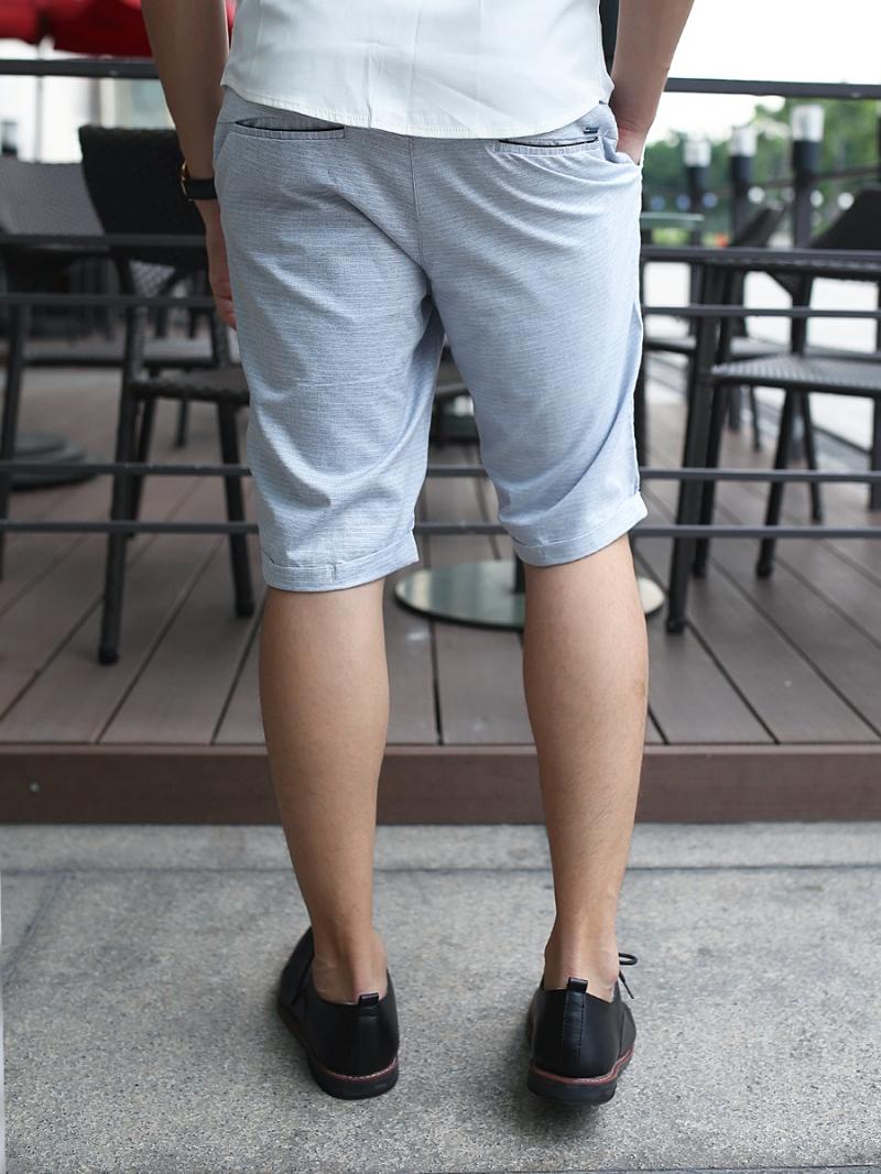 Quần short kaki xám xanh qs81 - 2