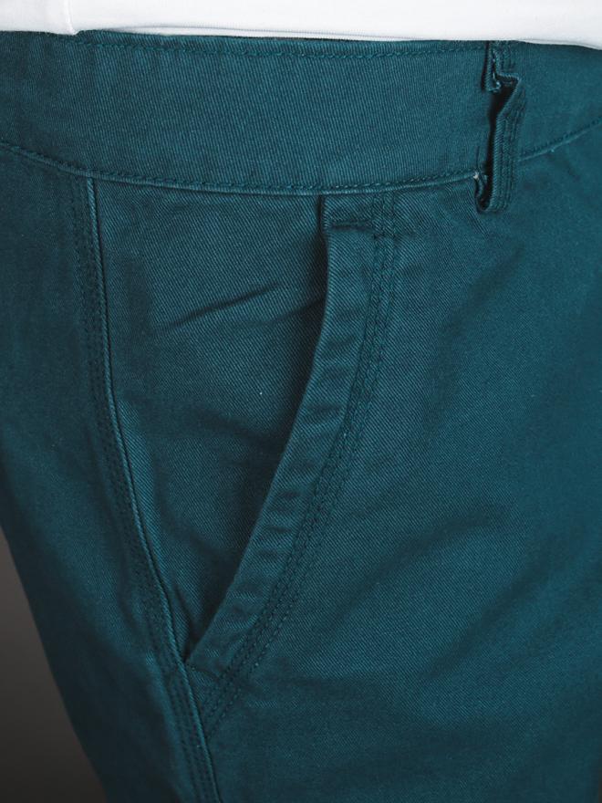 Quần short kaki xanh cổ vịt qs72 - 2