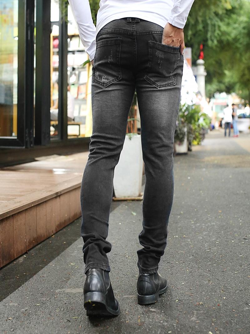 Quần jean skinny đen qj1383 - 2