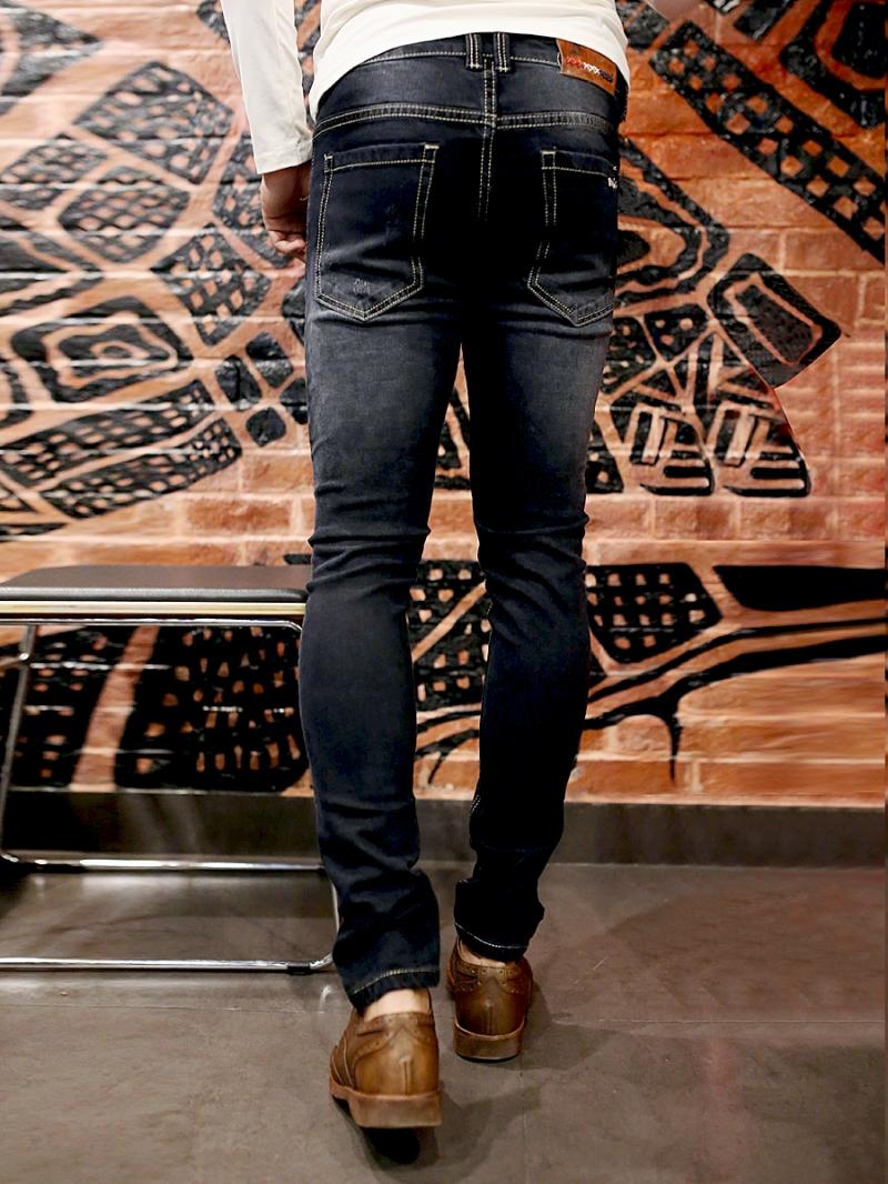 Quần jean skinny đen qj1387 - 2