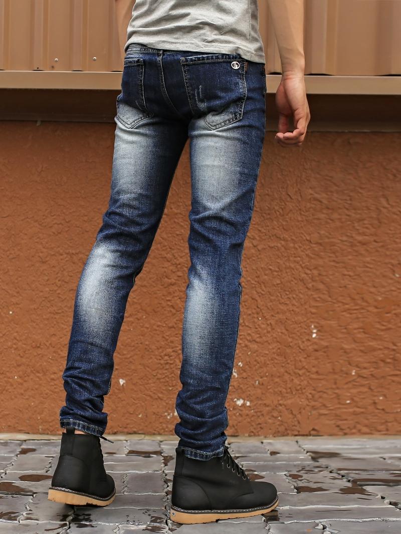 Quần jean skinny xanh đen qj1392 - 3