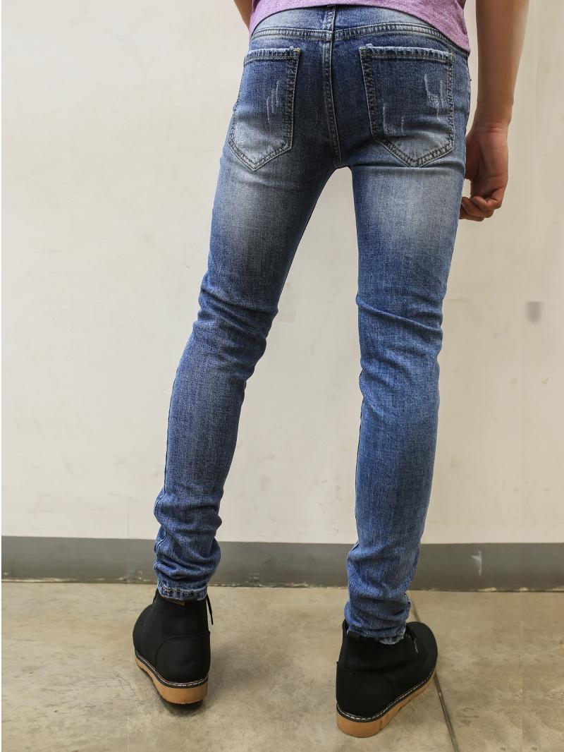 Quần jean skinny xanh dương qj1393 - 2