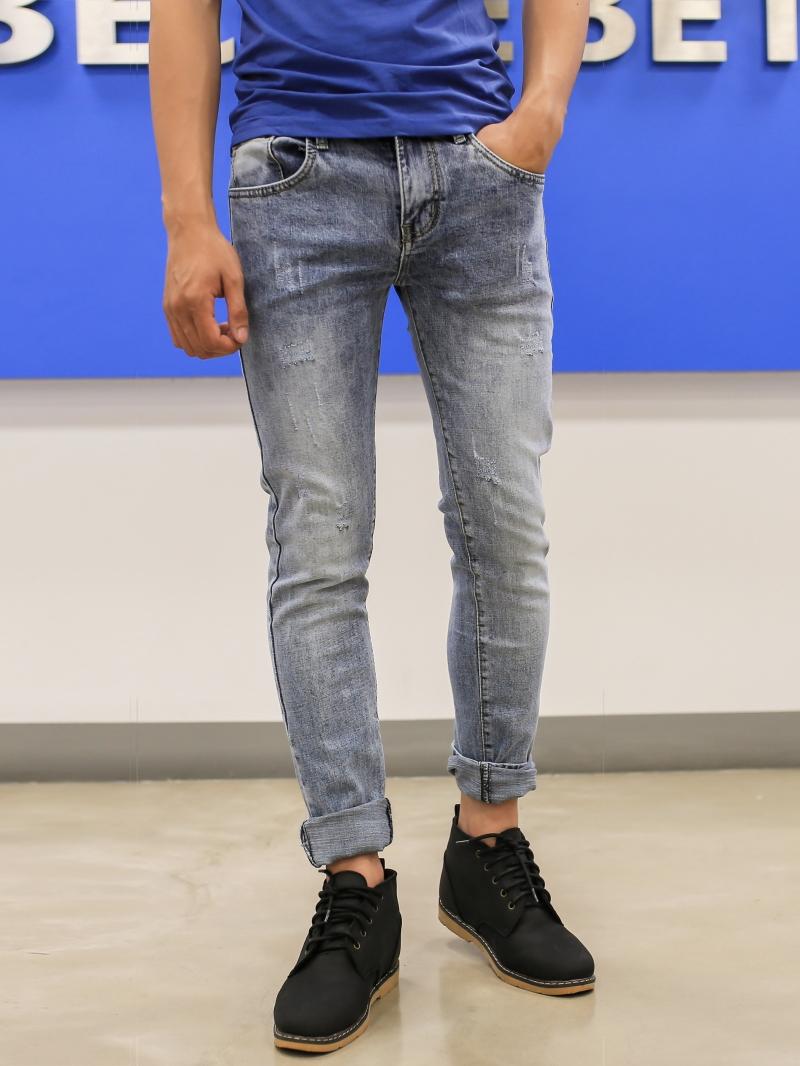 Quần jean skinny xanh qj1393 - 1