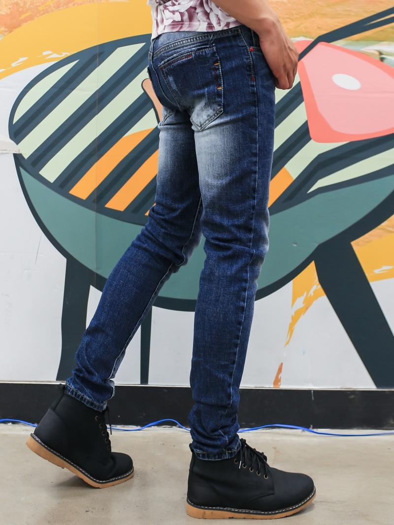 Quần jean xanh đen qj1396 - 3