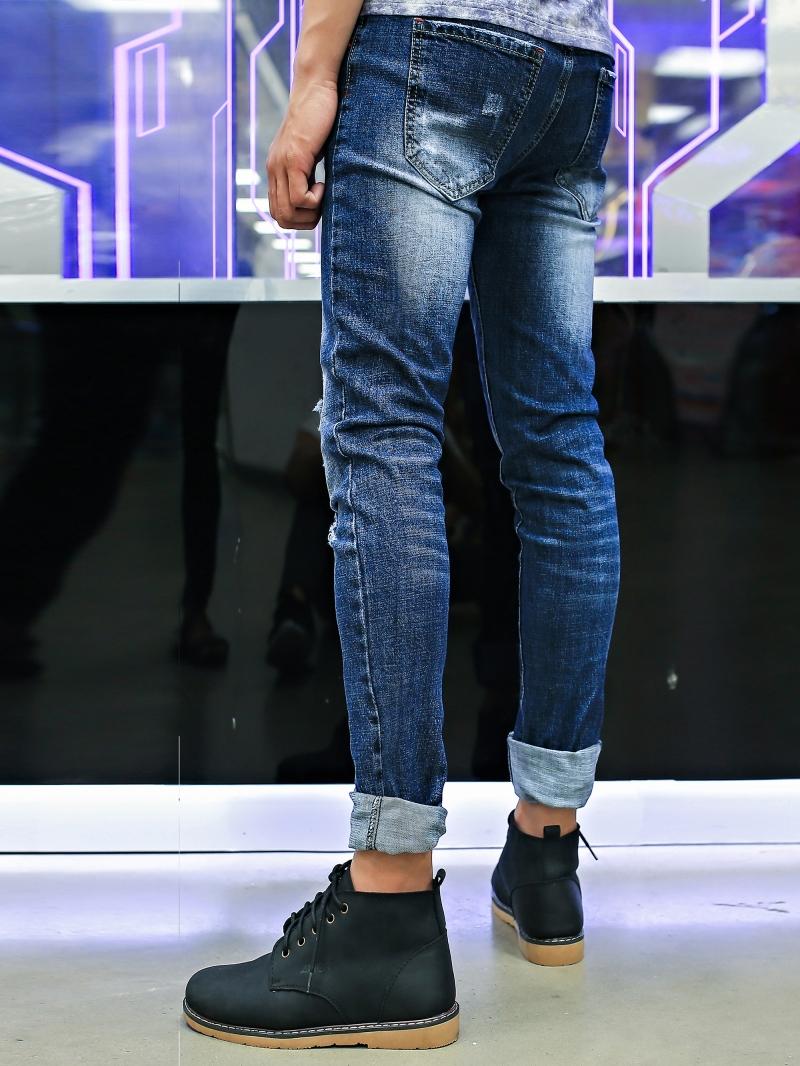 Quần jean xanh đen qj1397 - 3