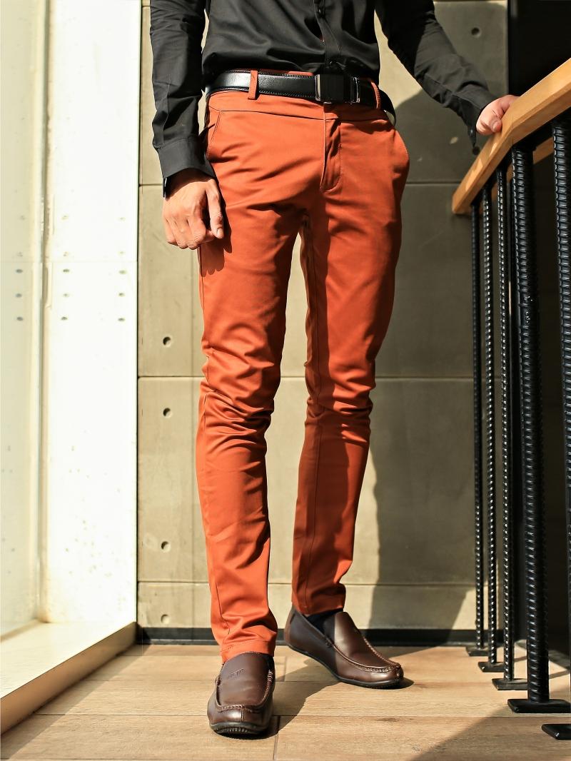 Quần tây đỏ cam qt55 - 2