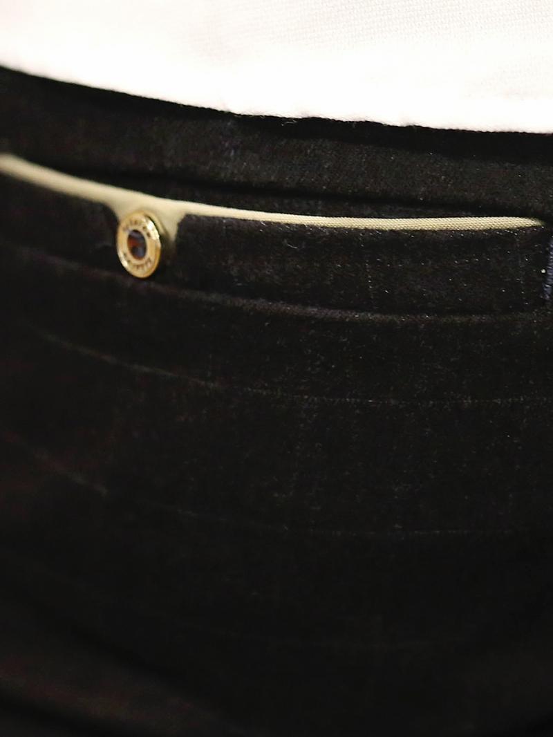Quần tây xanh đen co giãn qt53 - 2