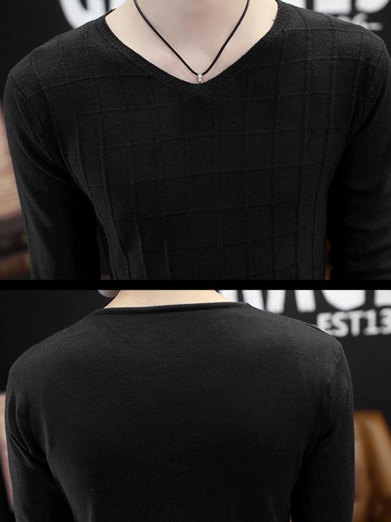 Áo len đen al90 - 2