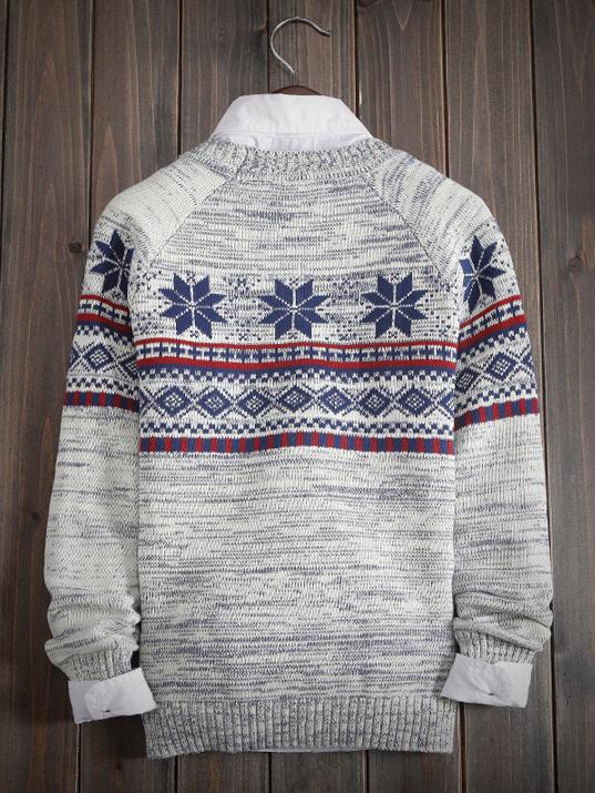 Áo len trắng kem al89 - 2