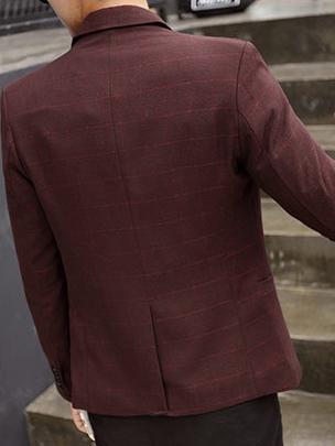 Áo vest cao cấp đỏ nâu av1099 - 4