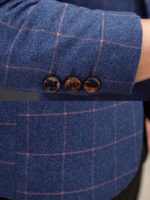 Áo vest cao cấp xanh bích av1099 - 4
