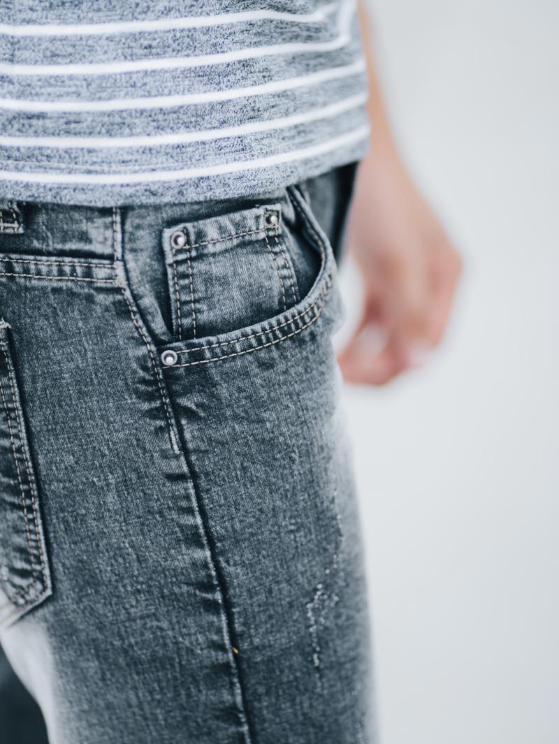 Quần jean skinny xám chuột qj1410 - 3