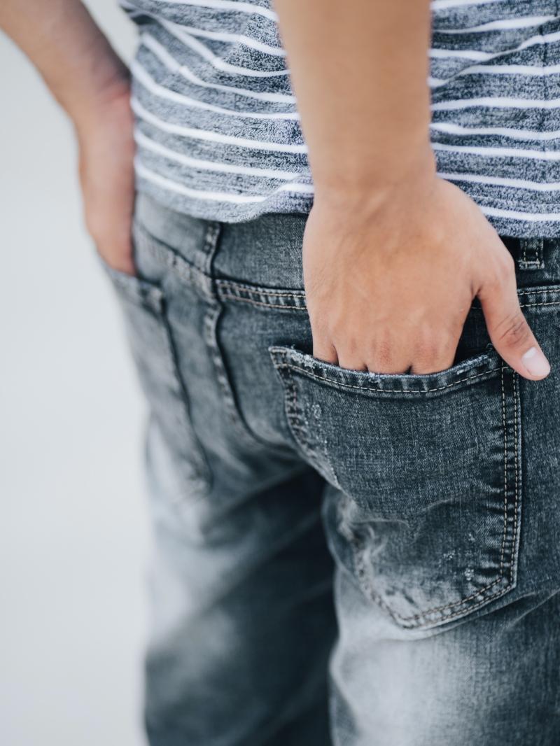 Quần jean skinny xám chuột qj1410 - 4