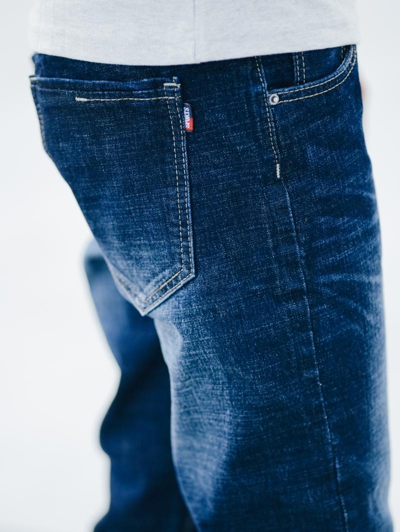 Quần jean skinny xanh đậm qj1414 - 4
