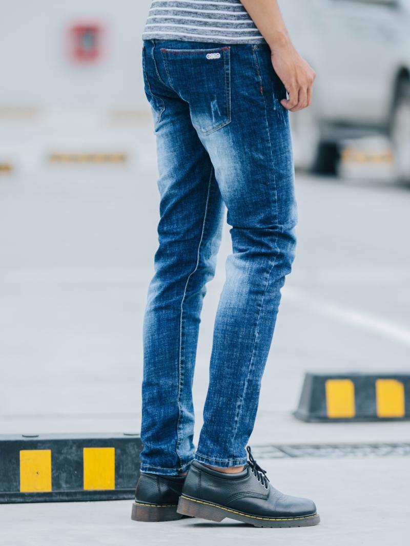 Quần jean skinny xanh dương qj1412 - 3
