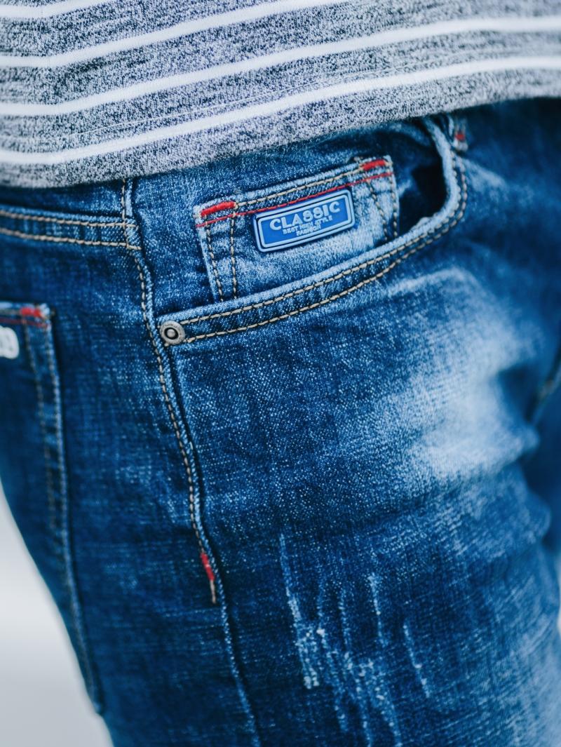 Quần jean skinny xanh dương qj1412 - 4