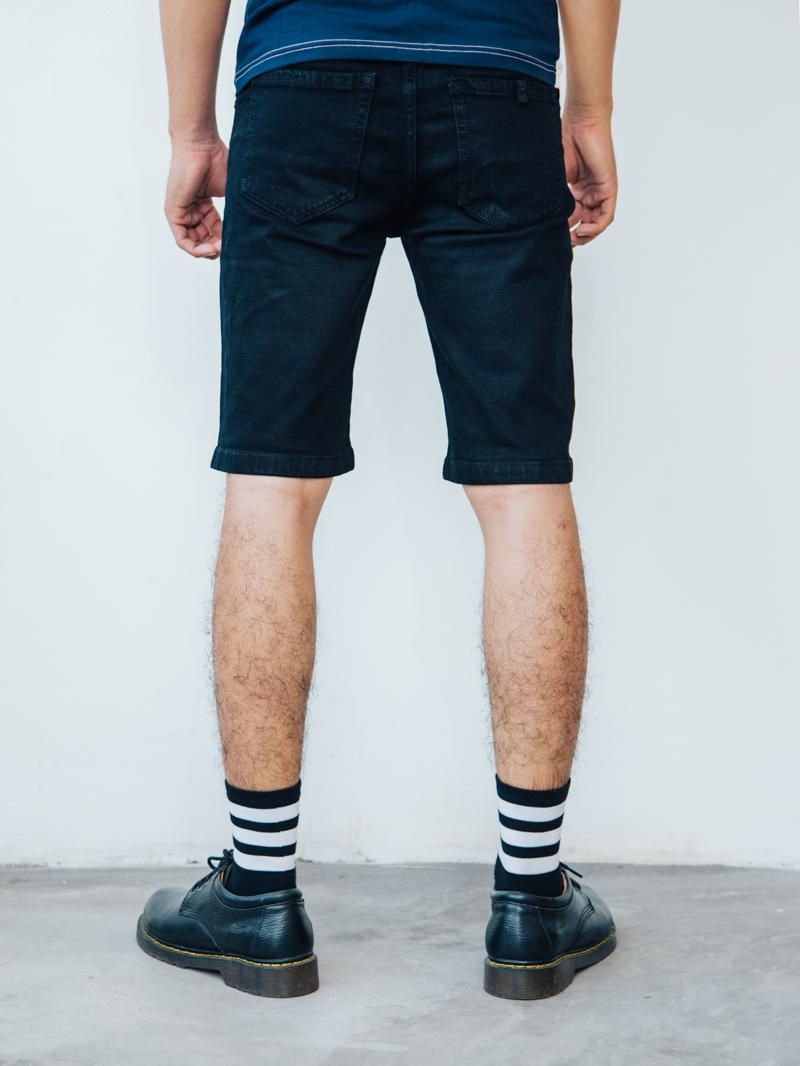 Quần short jean đen qs87 - 2