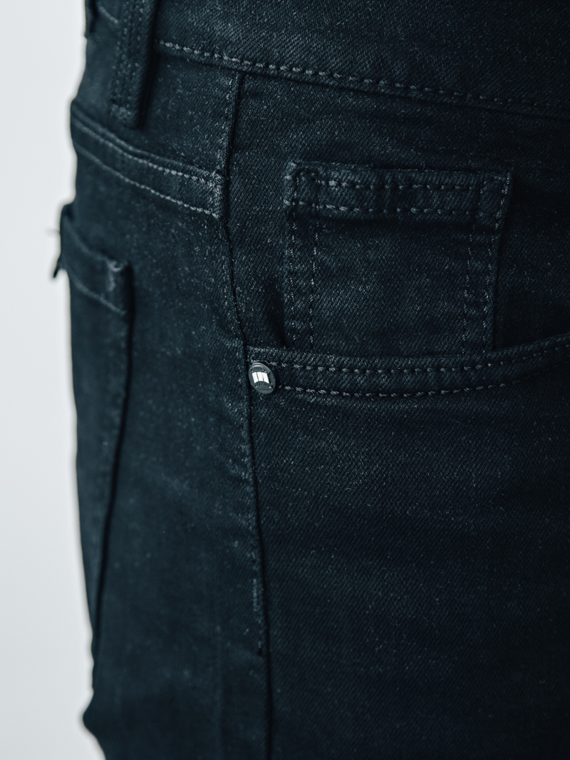 Quần short jean đen qs87 - 3
