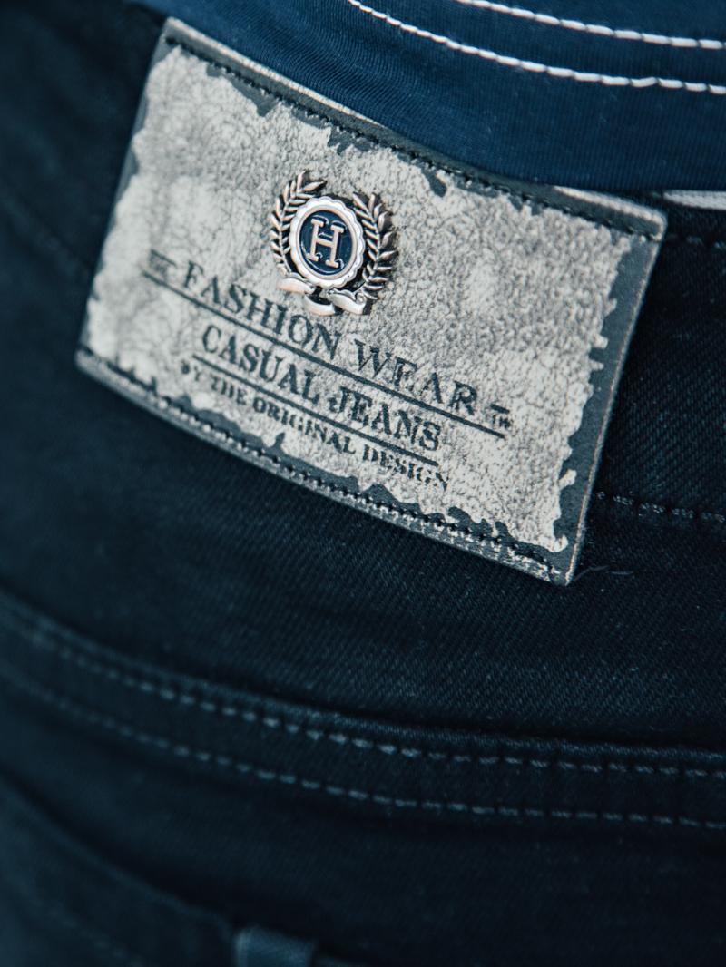 Quần short jean đen qs87 - 4