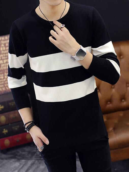 Áo len đen al92 - 3