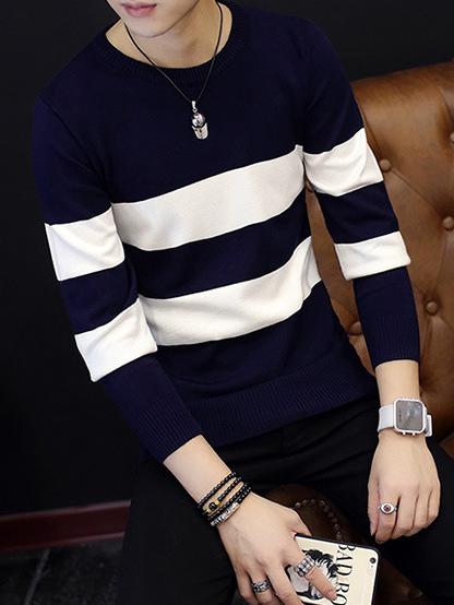Áo len xanh đen al92 - 2