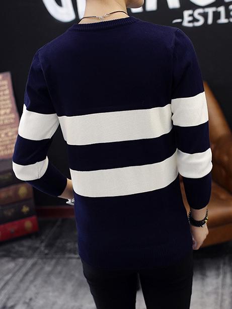 Áo len xanh đen al92 - 3