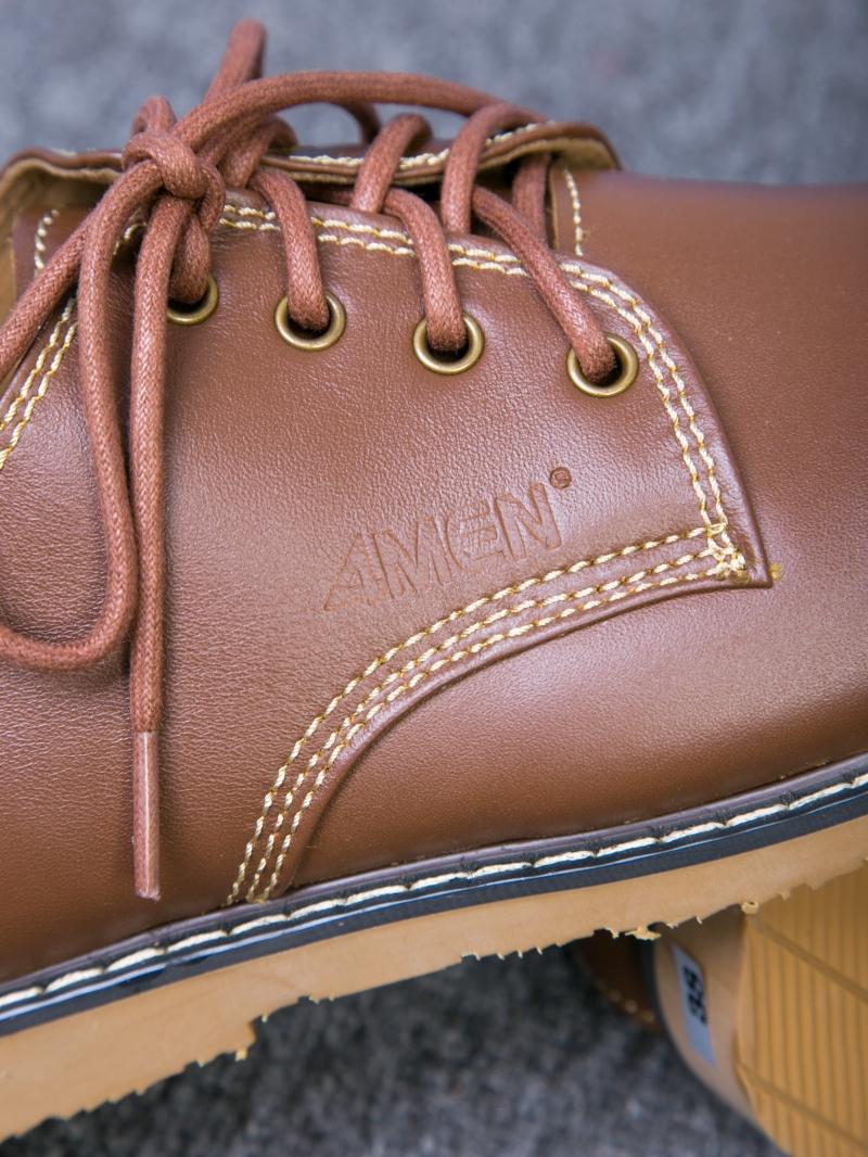 Giày cột dây thời trang bò đậm g109 - 3