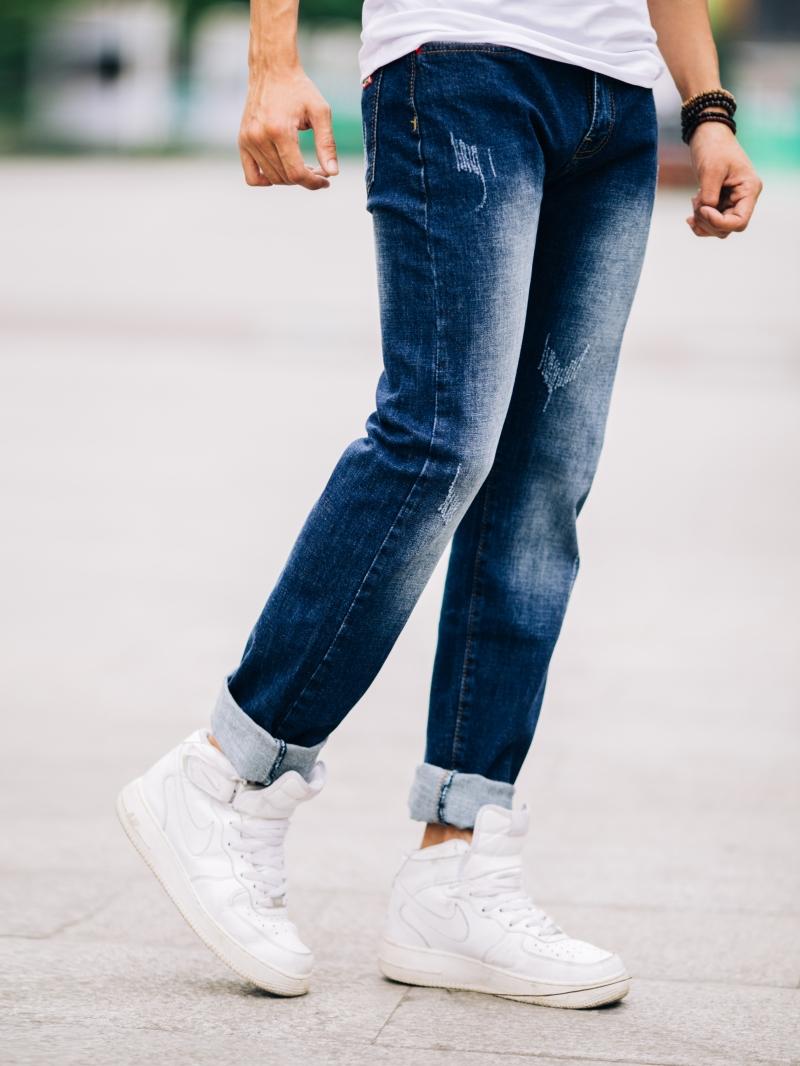 Quần jean skinny xanh đen qj1429 - 2