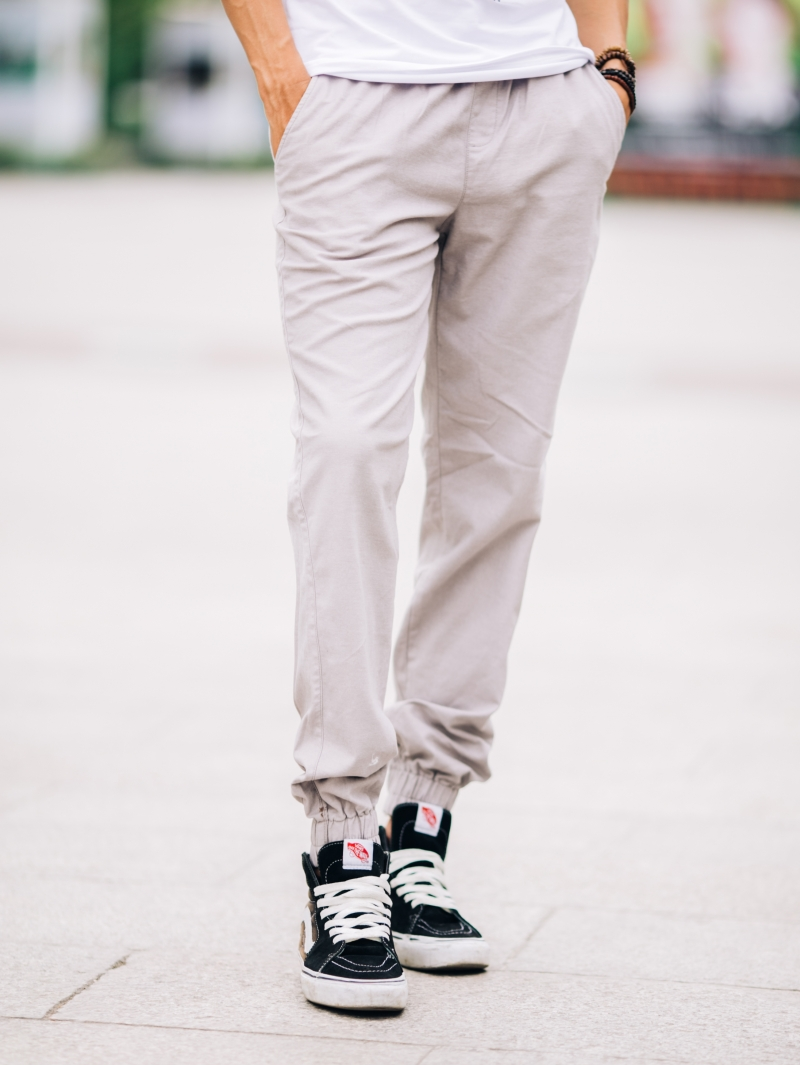 Quần jogger kaki xám j05 - 2